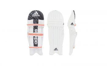 Adidas Incurza 3.0 RH Batting Pads – White/Blue