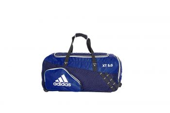 Adidas XT 5.0 Junior Wheelie Bag – Blue/Navy/White