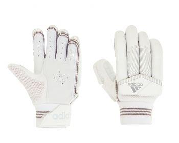 Adidas XT 5.0 LH Junior Batting Gloves – White/Grey