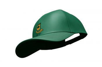 Coombswood CC Duel Cricket Playing Cap - Green
