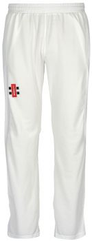 Gray-Nicolls Velocity Trousers – Ivory/Navy Trim
