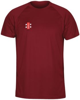 The Gray-Nicolls Matrix Tee - Maroon