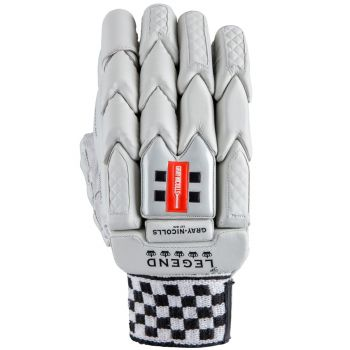 Gray-Nicolls Legend LH Batting Gloves – White