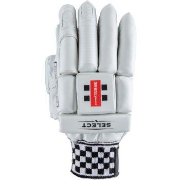Gray-Nicolls Select LH Junior Batting Gloves – White