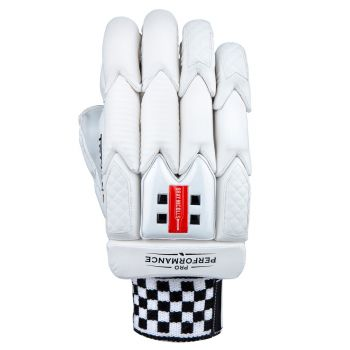 Gray-Nicolls Pro Performance LH Batting Gloves – White