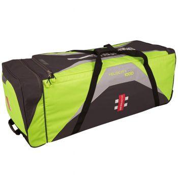 Gray-Nicolls Velocity XP1 1000 Wheelie Bag - Green/Grey