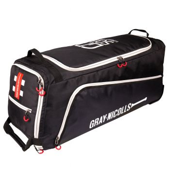 Gray-Nicolls GN500 Wheelie Bag – Black/White