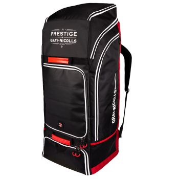Gray-Nicolls Prestige Duffle Bag – Black/Red/White