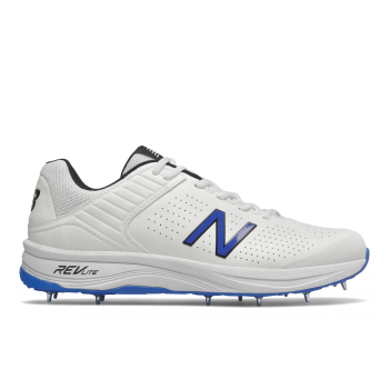 New Balance CK4030 Cricket Shoe – White/Blue
