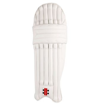 Gray-Nicolls Oblivion Stealth 600 LH Junior Batting Pads – White/Silver