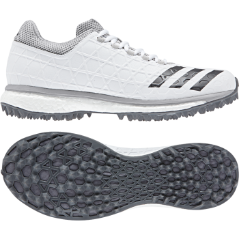 Adidas Adizero SL22 Boost Cricket Shoe - White/Grey