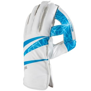 Gray-NicollsShockwave 300 Wicket Keeping Gloves – White/Blue
