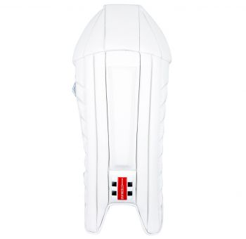 Gray-Nicolls Oblivion Stealth Wicket Keeping Pads – White/Black/Silver