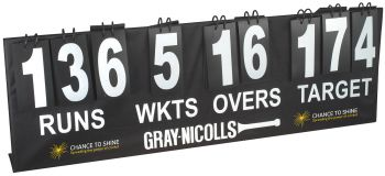 Gray-Nicolls Scoreboard - Black/White