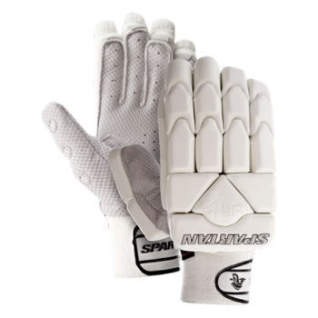 Spartan Diamond RH Batting Gloves - White