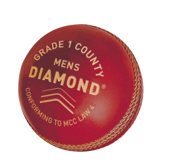 Gunn & Moore Diamond Grade 1 County Cricket Ball - Red