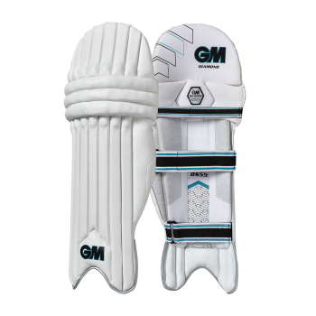 Gunn & Moore Diamond RH Batting Pads - White