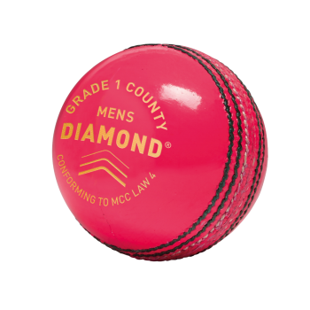 Gunn & Moore Diamond Grade 1 County Cricket Ball - Pink