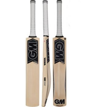 Gunn & Moore Chrome L555 606 Junior Cricket Bat – Black/Silver