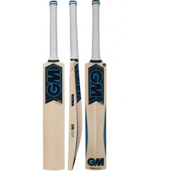 The Gunn & Moore Neon L540 909 Cricket Bat – Black/Blue