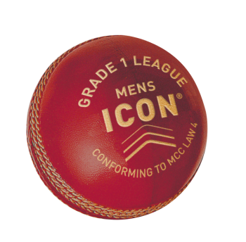 Gunn & Moore Icon Grade 1 Cricket Ball - Red