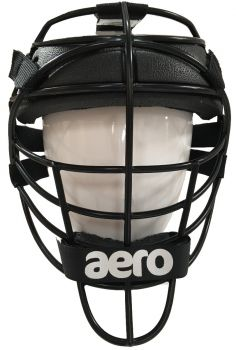 Aero KPR Senior Wicket Keeping Face Protector - Black