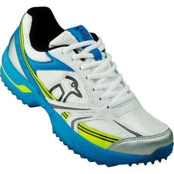 Kookaburra Pro 760 Rubber Junior Cricket Shoes - Blue