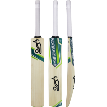 Kookaburra Kahuna 2000 Junior Cricket Bat - Green/Light Green