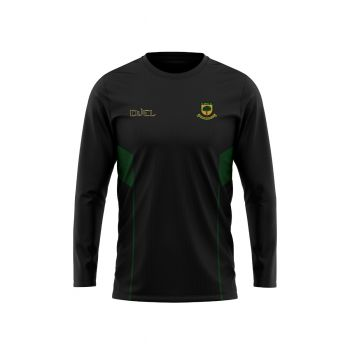Coombswood CC Duel LS Training Shirt - Black/Green
