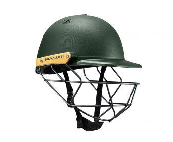 Masuri C Line SteelJunior Cricket Helmet - Green