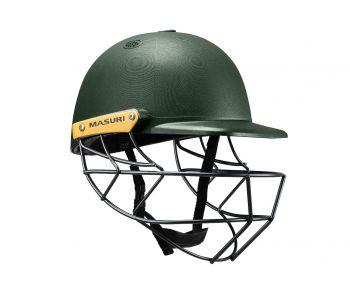 Masuri C Line Steel Cricket Helmet - Green