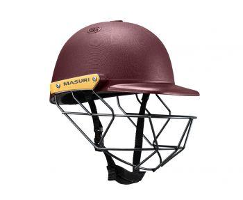 Masuri C Line SteelJunior Cricket Helmet - Maroon