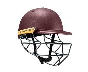 Masuri C Line Steel Cricket Helmet - Maroon
