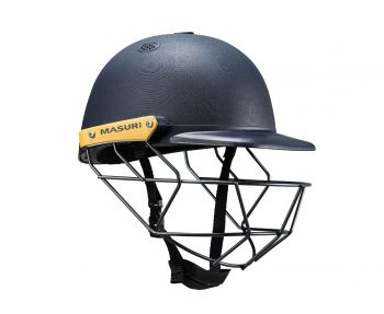 Masuri C Line SteelJunior Cricket Helmet - Navy