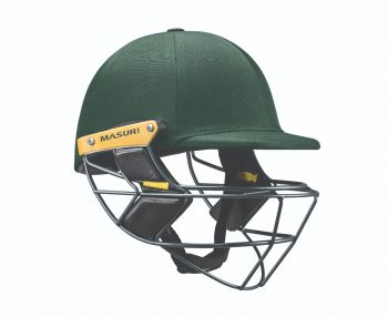 Masuri E Line Steel Cricket Helmet – Green