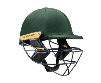 Masuri E Line Titanium Cricket Helmet - Green