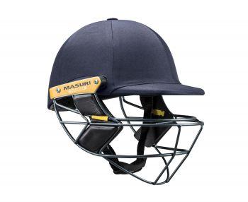 Masuri E Line Titanium Cricket Helmet - Navy