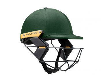 Masuri T Line SteelJunior Cricket Helmet - Green