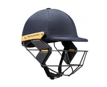 Masuri T Line Steel Junior Cricket Helmet - Navy