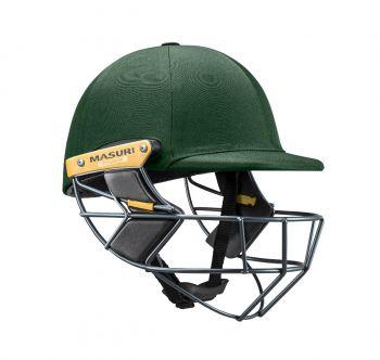 Masuri T Line Titanium Cricket Helmet - Green