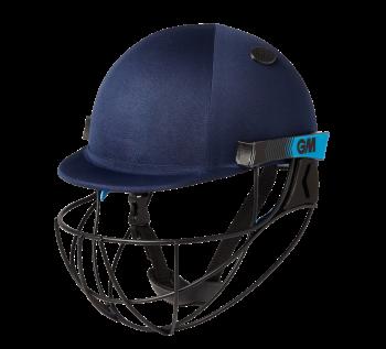 Gunn & Moore Neon Geo Cricket Helmet - Navy