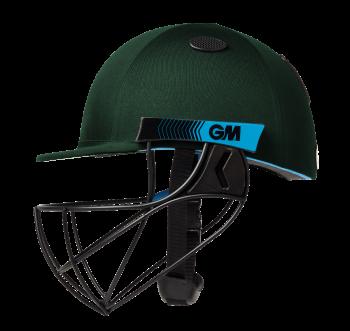 Gunn & Moore Neon Geo Cricket Helmet - Green