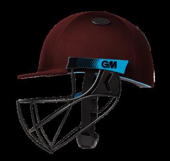 Gunn & Moore Neon Geo Cricket Helmet - Maroon