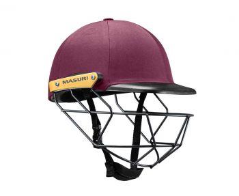 Masuri Original Series MKII Legacy Plus Steel Junior Helmet – Maroon