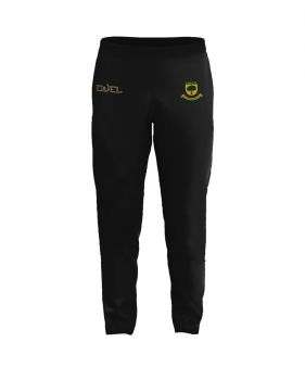 Coombswood CC Duel Tapered Training Pants - Black/Green