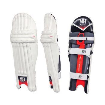 Millichamp & Hall Pro RH Batting Pads - White/Orange/Grey