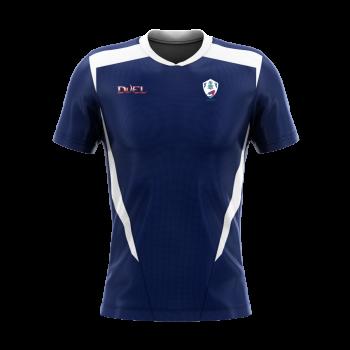 OSSCC Duel SS Training Shirt - Blue/White