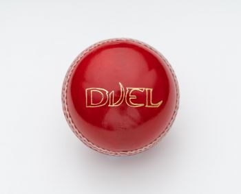 Duel League Cricket Ball - Red