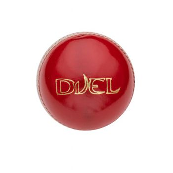 Duel Club Cricket Ball - Red