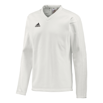 Adidas L/S Playing Sweat - Chalk